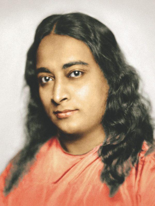 Ritratto su tela di Paramhansa Yogananda