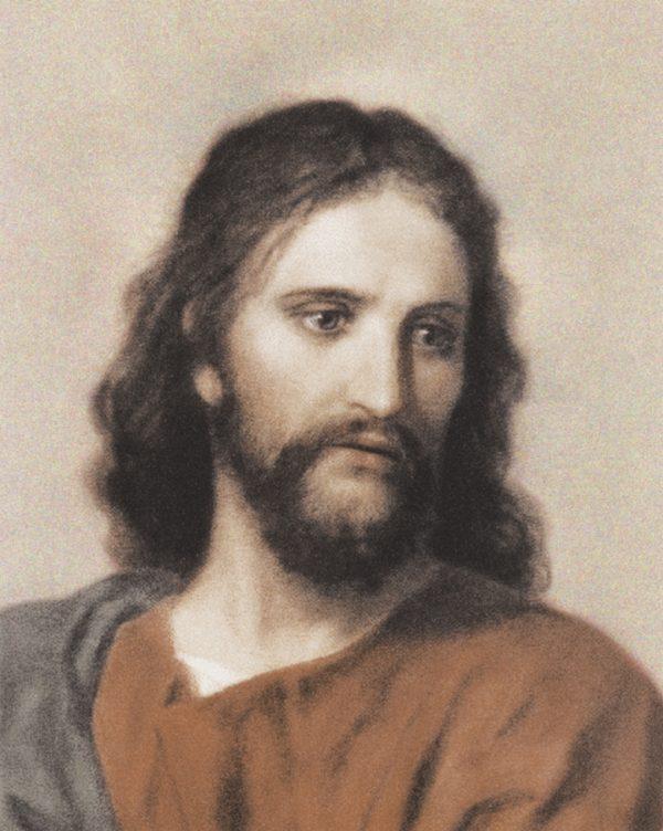Ritratto su tela di Gesù