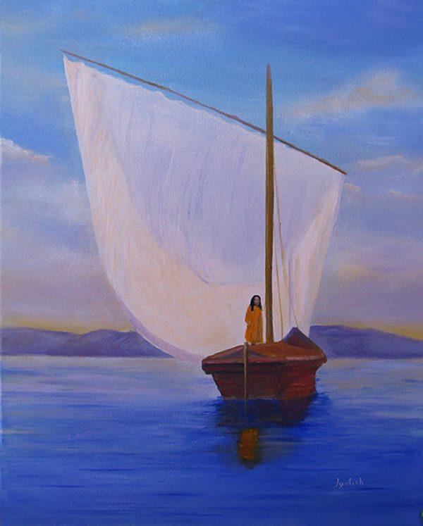 "Stampa fotografica ""God's Boatman"""