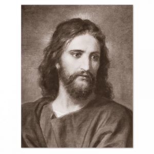 Fotografia di Gesù Cristo - tono seppia-0