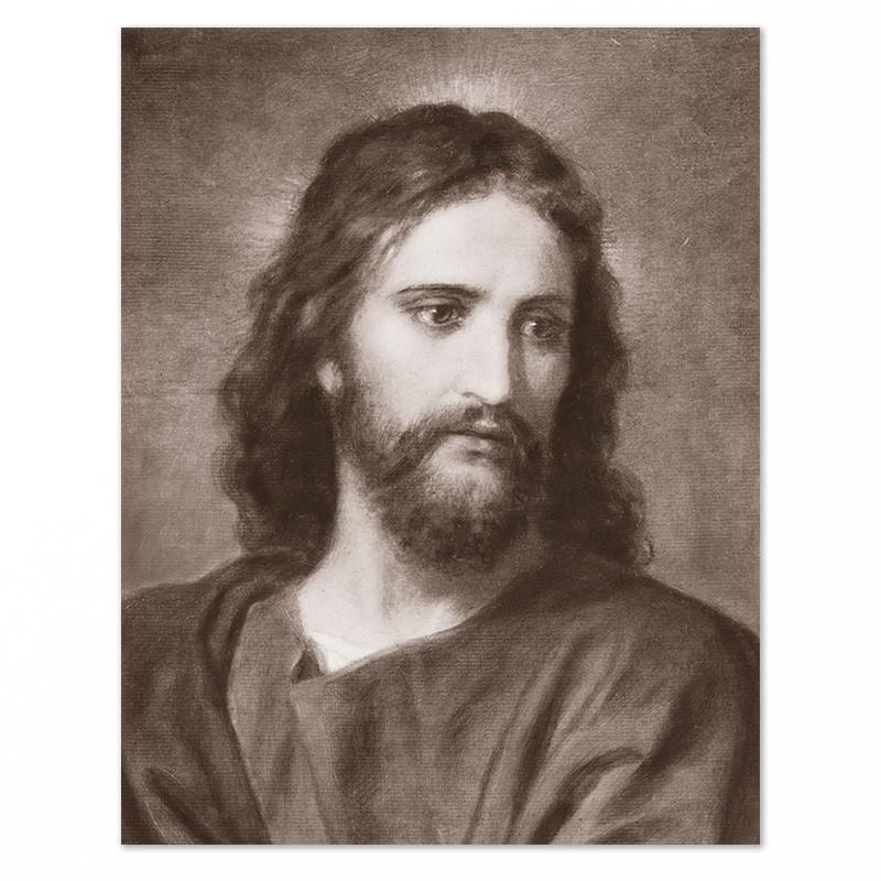 Fotografia di Gesù Cristo – tono seppia-0